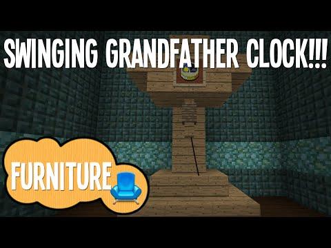 Minecraft - Swinging Grandfather Clock