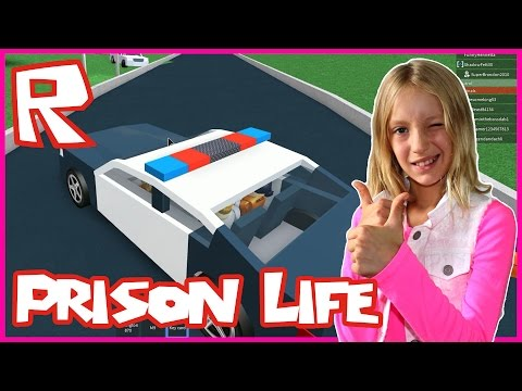 Roblox Prison Life / Driving Away In POLICE Car!