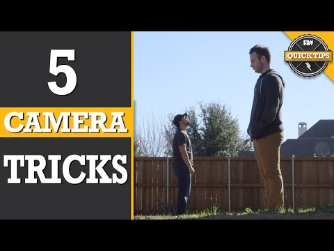Quick Tips: 5 Easy Camera Tricks!
