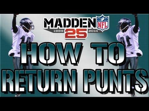 Madden NFL 15 Punt Return Touchdown Tips & Tricks