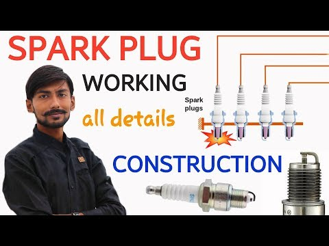[HINDI] SPARK PLUG | CONSTRUCTION & WORKING | ALL ABOUT SPARK PLUG