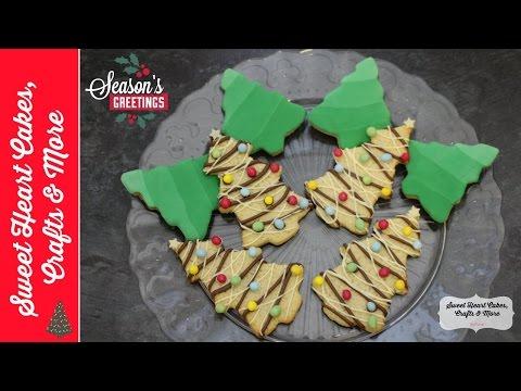 Christmas Tree Cookie Recipe Tutorial