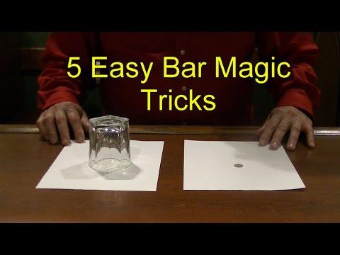 5 Easy Bar Magic Tricks Epic Cool Simple Magic Trick