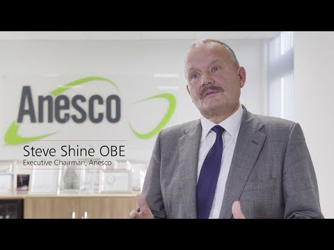 Steve Shine OBE, Anesco: investing in renewables and storage