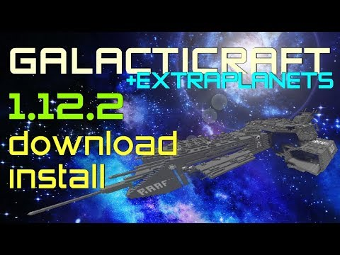 GALACTICRAFT MOD 1.12.2 minecraft - how to download and install Galacticraft 1.12.2 [+ExtraPlanets]