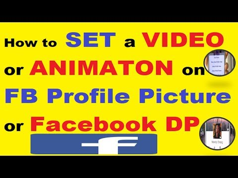 How to set a Video/Animation on FB Profile picture/Facebook DP in Urdu/Hindi [2018]