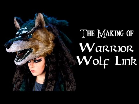 The Making of Warrior Wolf Link | Legend of Zelda Cosplay Time Lapse
