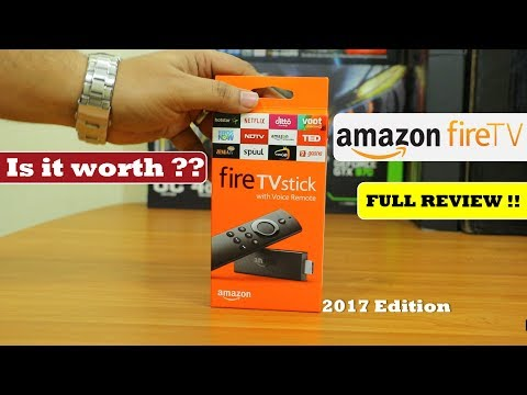 Amazon Fire TV Stick | 2017 |  Unboxing & Full Review |  Is it worth ??