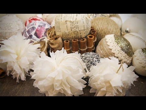 Baking Sheet Snowflakes DIY | Rustic Christmas Decorations (part 1)