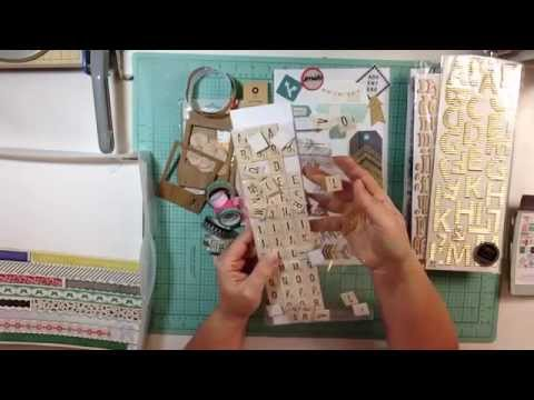 Create Your Own Scrapbook Kit: Crate Paper Journey Inspired Kit