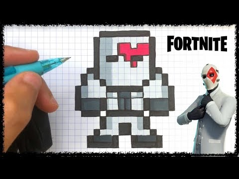 Tuto joker pixel art fortnite - Comment dessiner joker ...