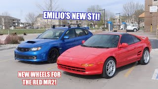 Red Mr2 Gets a New Look and Emilio Bought a New Daily!