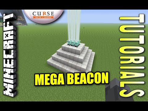 Minecraft PS4 - ULTIMATE BEACON - How To - Tutorial ( PS3 / XBOX ) WII