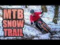 MTB SNOW TRAIL - BEAST FROM THE EAST!