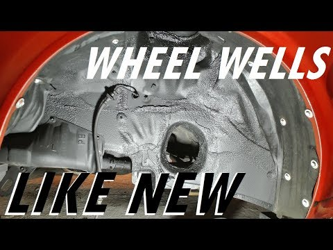 How to clean and restore your wheel wells - suspension episode 7