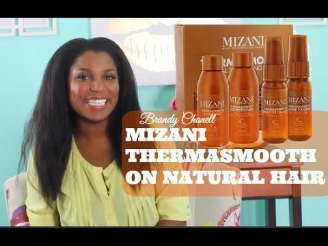Mizani Thermasmooth System on Natural Hair