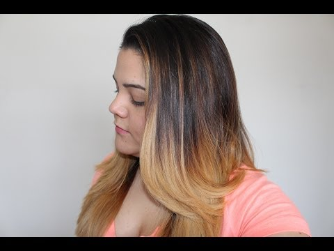 DIY Ombre Hair Tutorial | Brunette to Blonde | The Soriam Efffect