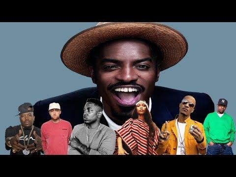 Celebrities Talk About Andre 3000 (Kendrick Lamar, Erykah Badu, Mac Miller, Scarface & more)