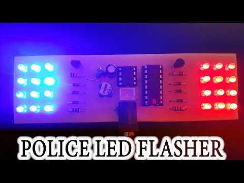 [Tutorial] How To Make POLICE LED FLASHER