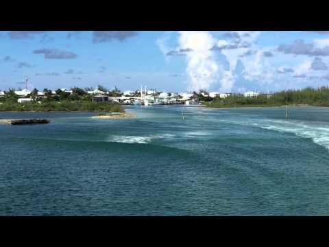 Ferry Ride: Harbour Island to Spanish Wells, Eleuthera, Bahamas to Nassau, New Providence on 9/2/15
