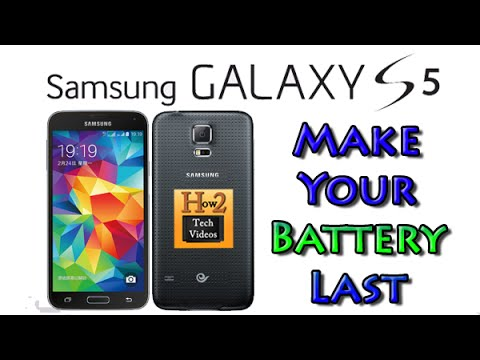 Galaxy S5 - How to Make Your Battery Last (Conserve Your Battery)   H2TechVideos