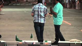 بطولة سيارات ريموتية في الملز الكابتن راشد