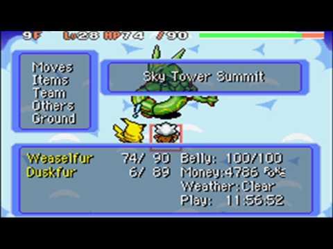 Pokemon Mystery Dungeon - Walkthrough Part 18: Rayquaza!