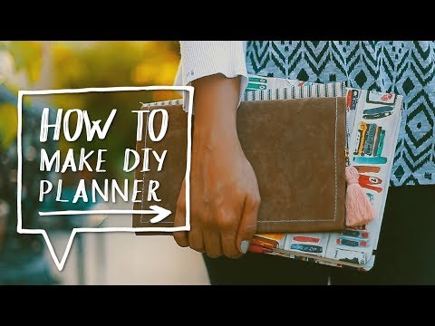 DIY AGENDA | How to Make a DIY Printable Planner | Collab Natalies Outlet! ✨Alejandra's Styles