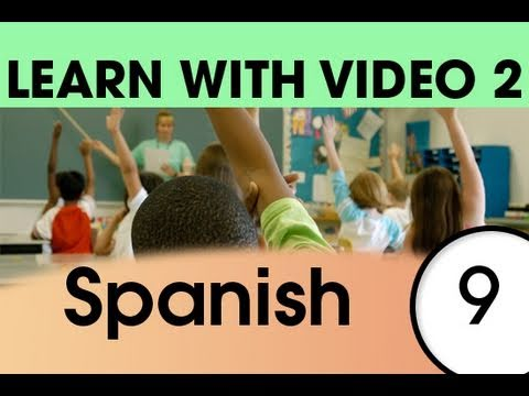 Learn Spanish with Video - Spanish Expressions and Words for the Classroom 2