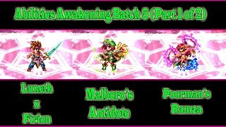 Ff Be Randi, Marie, And Soleil Abilities Awakening Guide Batch 5, Part 1 Of 2(#198)