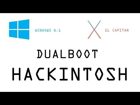 How to Dual boot El Capitan Hackintosh & Windows 8