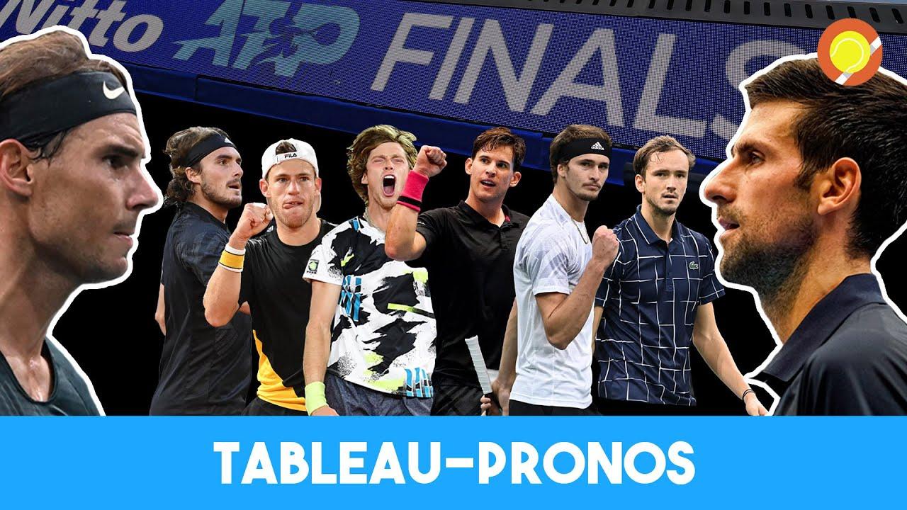 Le Tableau Complet Des Nitto ATP Finals 2020 | Tirage Au Sort & Pronostics
