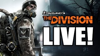 Tom Clancys The Division LIVE - Open Beta Gameplay! New Mission With Co-Op Multiplayer Gameplay