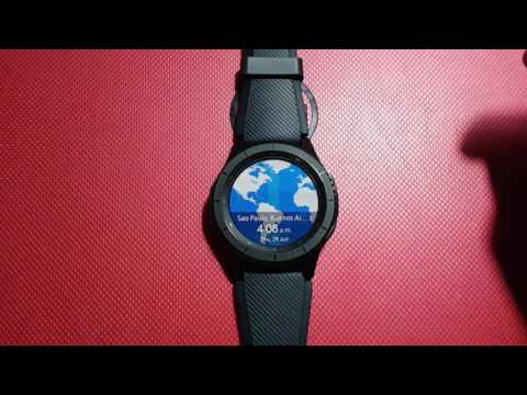 How to Change Time Zone on Samsung Gear S3 (Not Connect Mode)