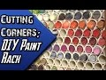 Cutting Corners - Hobby Series: Do It Yourself Paint Rack