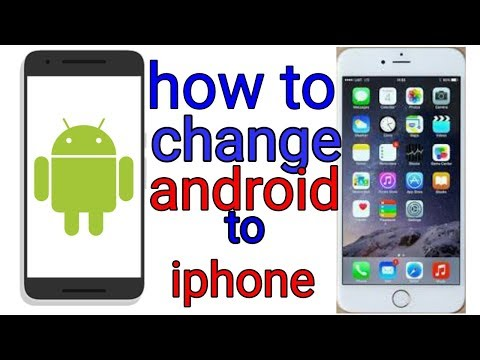 How to change Android to iPhone (os) in tamil