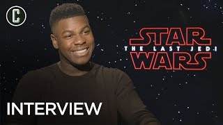 John Boyega on Star Wars: The Last Jedi & When He