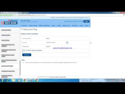 How to e-verify your income tax return using net Banking