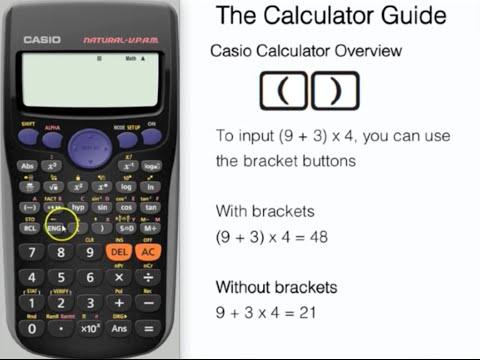 Casio Calculator Tutorial - Overview of Essential Buttons (fx-83GT PLUS, fx-85GT PLUS, fx-300ES)
