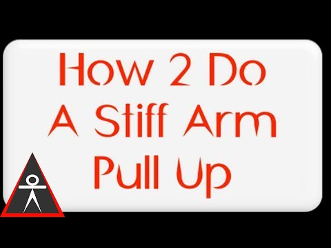 Building a Wider, Thicker Back With the Stiff Arm Pull Up