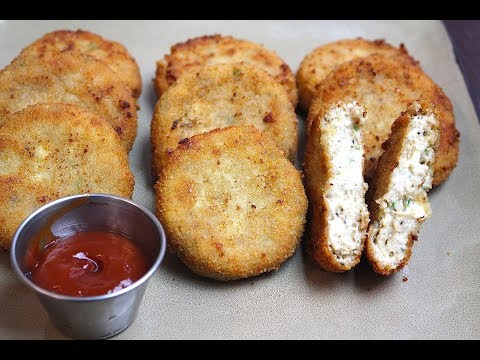 COTTAGE CHICKEN CUTLETS *COOK WITH FAIZA*