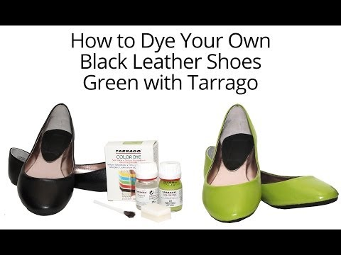 Tarrago Dye: How to Dye Your Leather Shoes