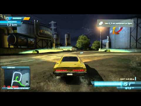 Test Dodge charger & Airoport - Need For Speed Most Wanted