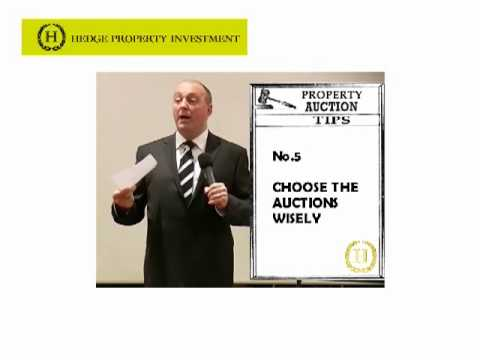 John's tips for *buying at auction* How to buy at auction *Calculate how much rent or mortgage*