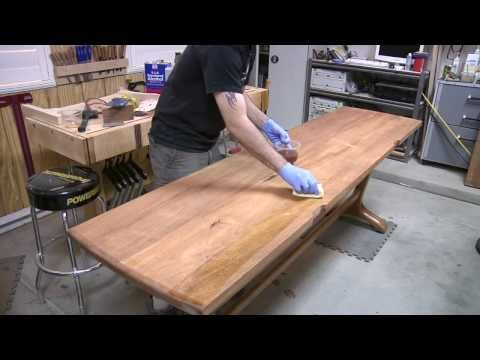 136 - How to Build a Trestle Table (Part 3 of 3)