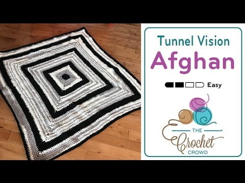 How to Crochet an Afghan: Solid Granny Square