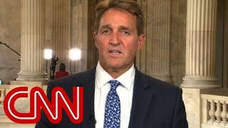 Sen. Flake calls for a GOP challenger to Trump