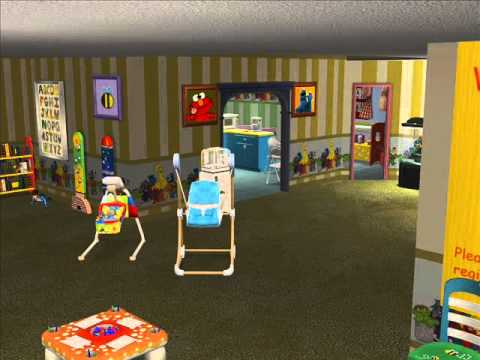 Sims 2 Daycare Center