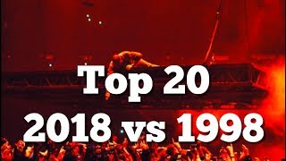 TOP 20 SONGS TODAY VS 1998 BETTER OR WORSE?