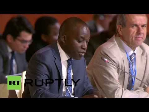 France: Maldives and Angola call for global warming target to be 'below 1.5°C'